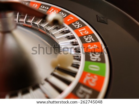 Casino Roulette - stock photo
