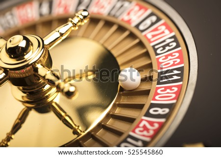 Golden time roulette small wooden roulette wheel