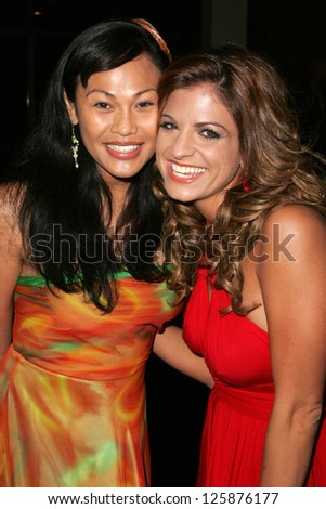 Cassandra Hepburn and Bridgetta Tomarchio at the 11th Annual Multicultural Prism Awards. Sheraton Universal Hotel, Universal City, California. December 10, 2006.