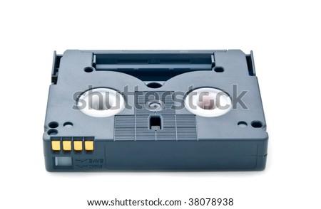 cassette for video - stock photo