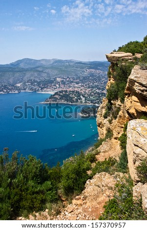 Cassis and the Mediterranean Sea