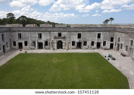 Castillo de San Marcos.  St. Augustine, Florida - stock photo
