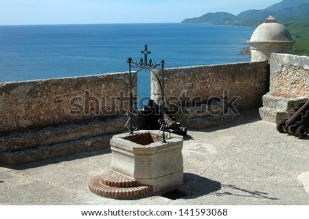 Castillo del Morro, Santiago de Cuba - stock photo