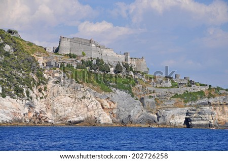 Castle at Porto Venere, Italy