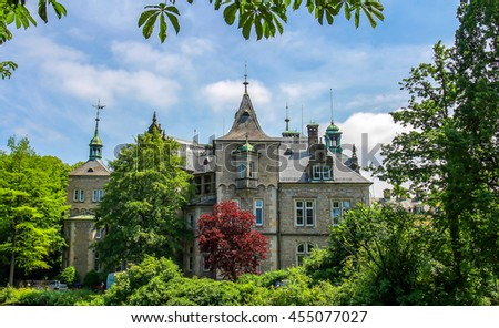 Castle Buckeburg, Germany - castle landscape