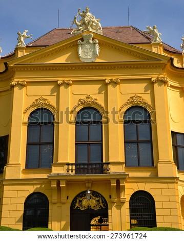 Castle Eckartsau in Austria - stock photo