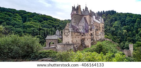 Castle Eltz is one of the best preserved castles in Europe located in Germany. One can this castle in words hardly describe. It is like a fairy tale in stone.