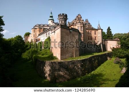 Castle Frydlant in Czech Republic - stock photo