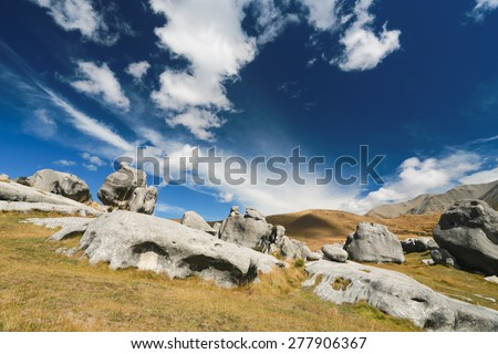 Castle Hill, Arthur's Pass National Park, New Zealand
