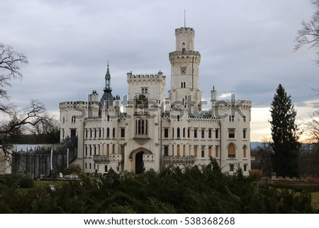 Castle Hluboka nad Vltavou - one of the most beautiful castles of Czech Republic