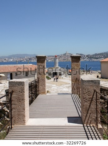Castle IF, Monte Cristo, Marseille - stock photo