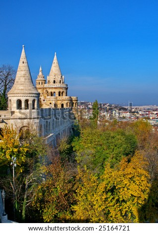 Castle in the Budapest, Hungary