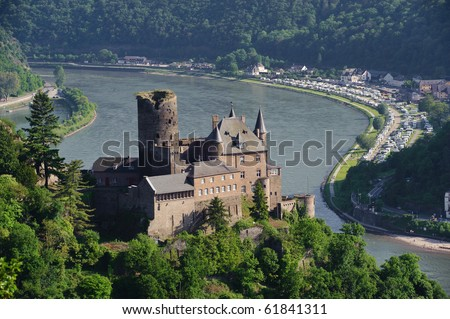 Castle Katz in Germany
