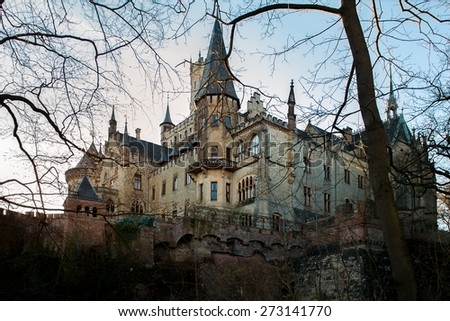 Castle Marienburg, Germany - stock photo