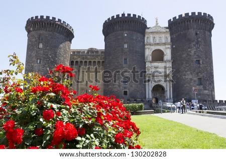 Castle Nuovo, Naples, Italy - stock photo