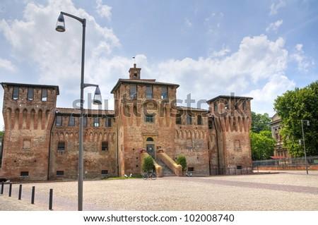 Castle of Cento. Emilia-Romagna. Italy. - stock photo