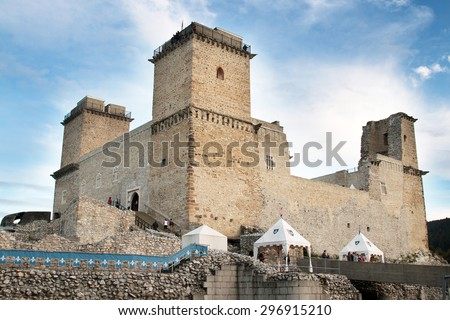 castle of diosgyor, miskolc - stock photo