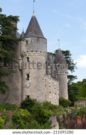 Castle of Montresor in the Loire Valley, France
