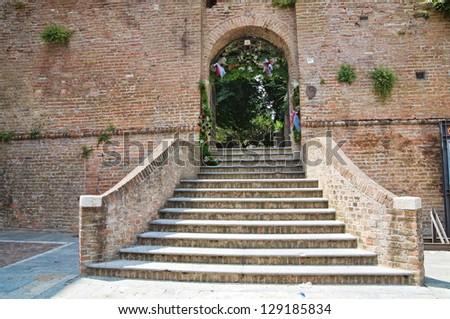 Castle of Music. Noceto. Emilia-Romagna. Italy. - stock photo