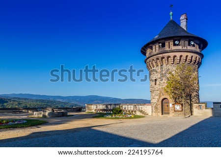 Castle of Wernigerode, Harz, Germany, - stock photo