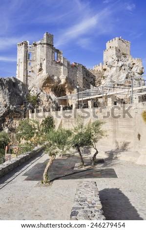 Castle of Zuheros, Cordoba (Spain) - stock photo