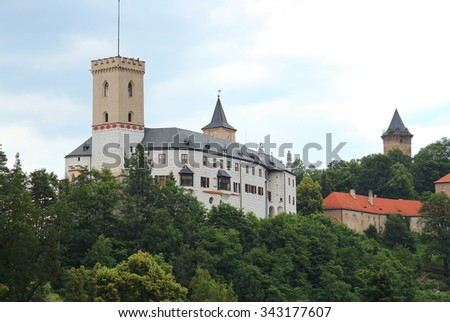 castle Rozmberk, Czech republic, Europe