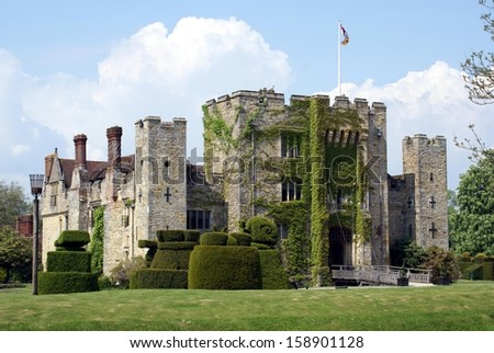 castle, south of England, UK - stock photo