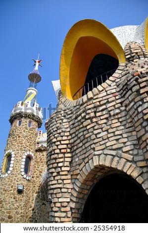 Castle spain style - stock photo