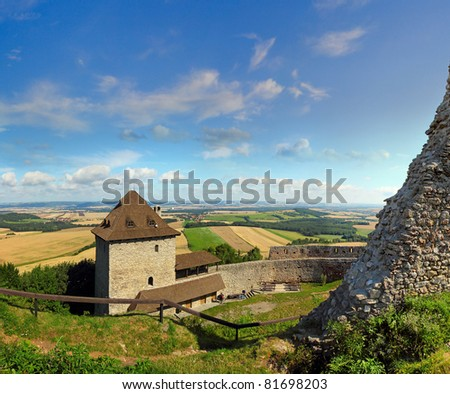Castle Stary Jicin, Czech republic - stock photo
