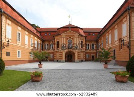 Castle Stirin, Bohemia - stock photo