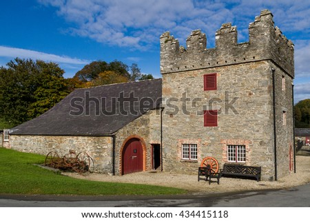 Castle Ward,  County Down, Northern Ireland