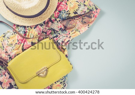 Casual female clothes - stock photo