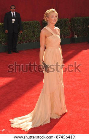 Cat Deeley at the 61st Primetime Emmy Awards at the Nokia Theatre L.A. Live. September 20, 2009  Los Angeles, CA Picture: Paul Smith / Featureflash
