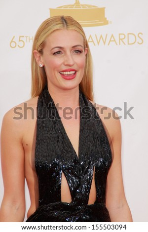 Cat Deeley at the 65th Primetime Emmy Awards at the Nokia Theatre, LA Live. September 22, 2013  Los Angeles, CA