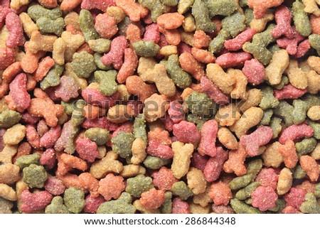 Cat food. - stock photo