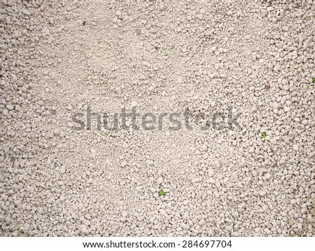 Cat litter made of little stones of clay.  - stock photo