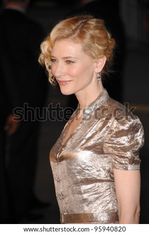 "CATE BLANCHETT at the Los Angeles premiere of her new movie ""Babel"". November 5, 2006  Los Angeles, CA Picture: Paul Smith / Featureflash"
