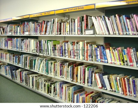 Categorized books