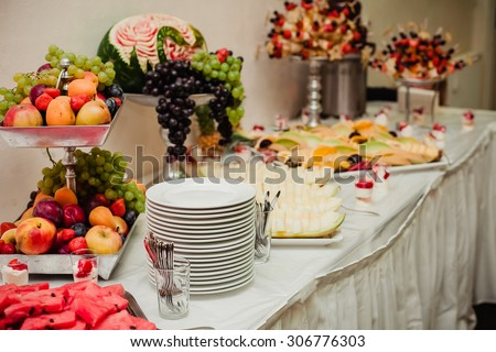 catering food eat wedding