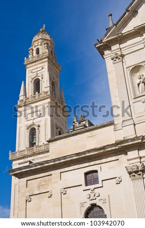 Cathedral Belltower. Lecce. Puglia. Italy.