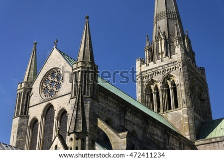 Cathedral Church of the Holy Trinity in Chichester, England