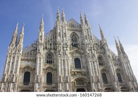 Cathedral Duomo, Milan - stock photo