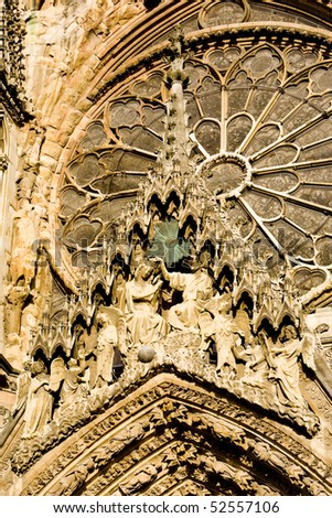 Cathedral Notre Dame, Reims, Champagne, France