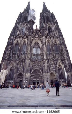 Cathedral of Cologne (Koln) - stock photo