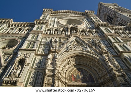 Cathedral of Florence Tuscany Italy