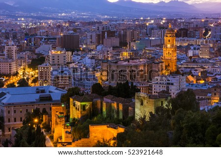 Cathedral of Malaga, Andalusia,Spain