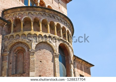 Cathedral of Parma. Emilia-Romagna. Italy.