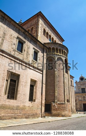 Cathedral of Parma. Emilia-Romagna. Italy. - stock photo