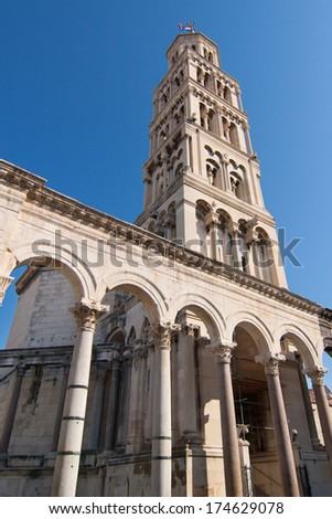 Cathedral of Saint Domnius in Split, Croatia.