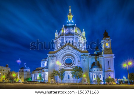 Cathedral of Saint Paul - stock photo